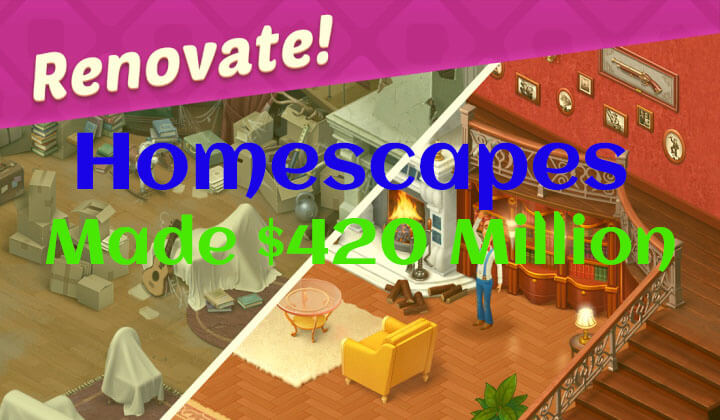 homescapes cross 400 million mark